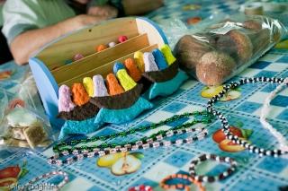 El Arca, Querétaro. Some of the items handcrafted by El Arca's members.