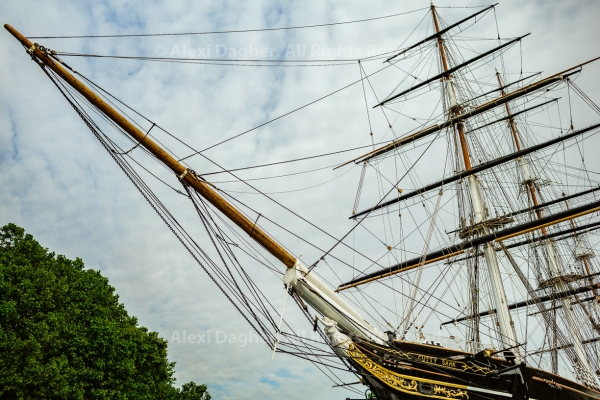Bow Of The Cutty Sark - Greenwich, London, England, 2016