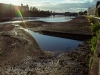 Thames River During A Low Tide - Fulham, London, England, 2016