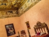 The Papal bedroom -  Castel Sant'Angelo, Rome, Italy 2014