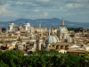 View of Rome from the Saint Angelo castle - Rome, Italy 2014